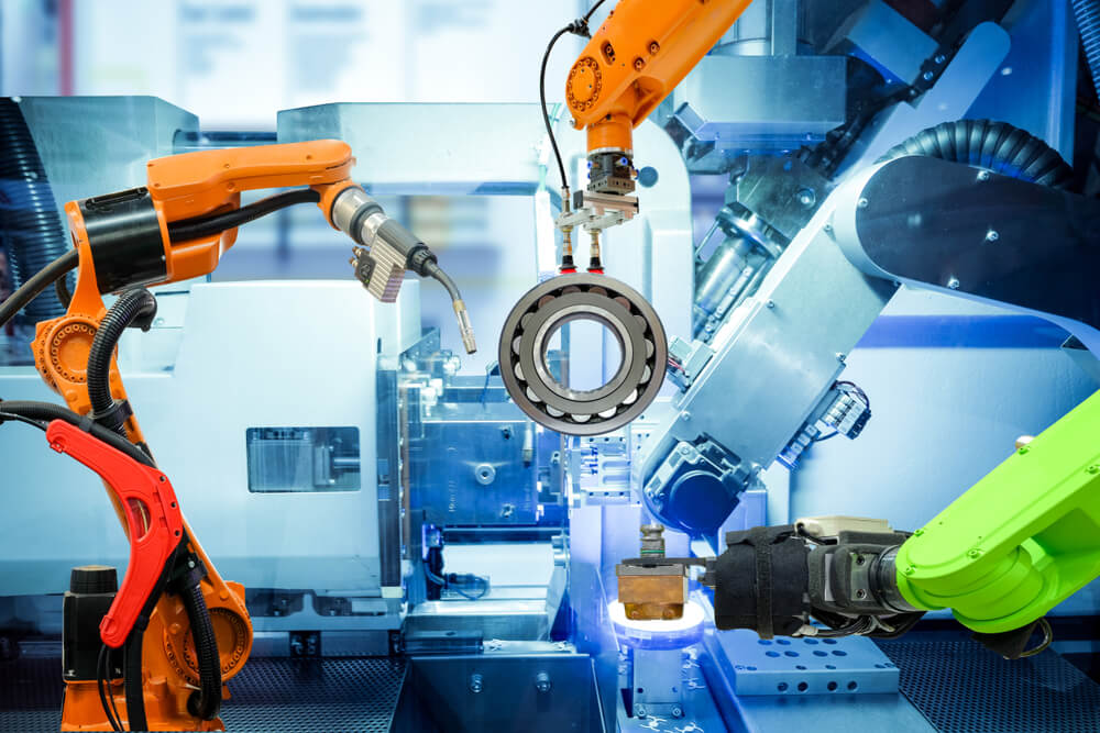 Xu hướng sử dụng robot trong các nhà máy sản xuất - iFactory.com.vn