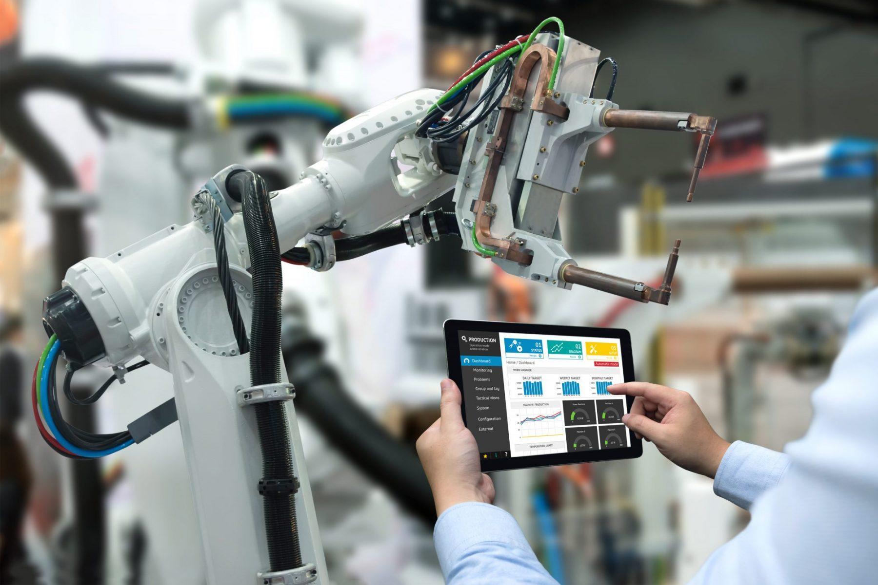 ứng dụng của trí tuệ nhân tạo trong sản xuất