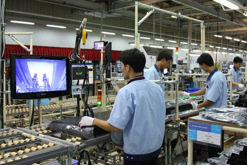 sản xuất công nghiệp 4.0