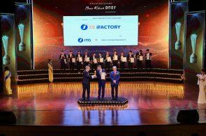 Giải pháp nhà máy thông minh 3S iFACTORY được xướng tên tại lễ trao giải Sao Khuê 2021